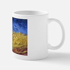 Van Gogh Wheatfield with Crows Small Mugs