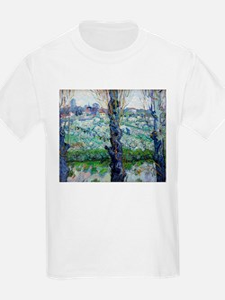 Van Gogh Flowering Orchards T-Shirt