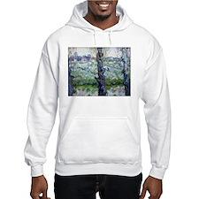 Van Gogh Flowering Orchards Hoodie