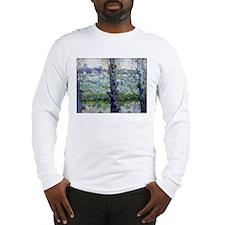 Van Gogh Flowering Orchards Long Sleeve T-Shirt