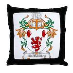 MacGawley Coat of Arms Throw Pillow