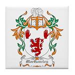 MacGawley Coat of Arms Tile Coaster