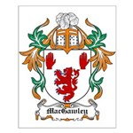 MacGawley Coat of Arms Small Poster