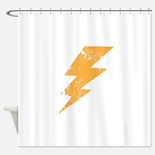 Retro Lightening Bold Shower Curtain