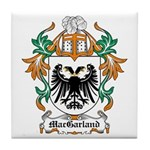 MacGarland Coat of Arms Tile Coaster