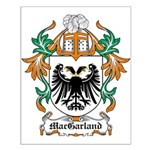 MacGarland Coat of Arms Small Poster
