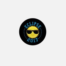 Cute Sun Eclipse 2017 Mini Button