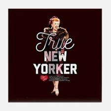 Lucy True New Yorker Tile Coaster