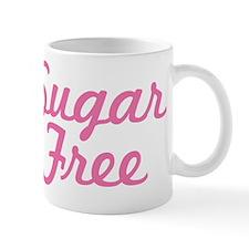 Pink Sugar Free Text Mug