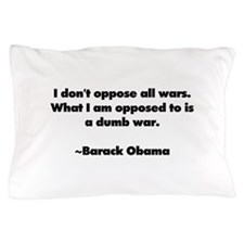 I dont oppose all wars. What I am opposed to is a
