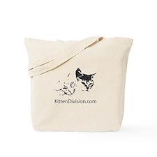 Kitten Division Tote Bag