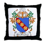 MacFayden Coat of Arms Throw Pillow