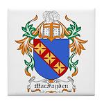 MacFayden Coat of Arms Tile Coaster
