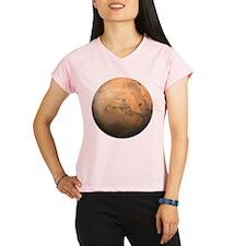 Mars Valles Marineris Performance Dry T-Shirt