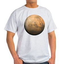 Mars Valles Marineris T-Shirt