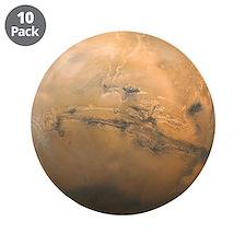 "Mars Valles Marineris 3.5"" Button (10 pack)"