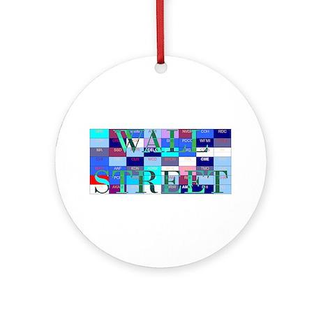 Wall Street Ornament (Round)