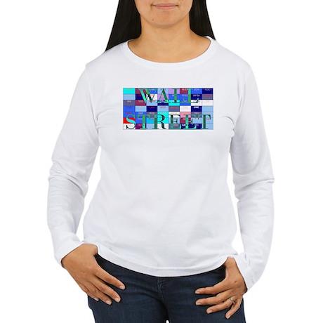 Wall Street Women's Long Sleeve T-Shirt