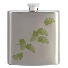 Ginkgo Leaves Flask