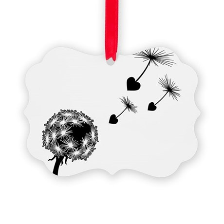 dandelion-love_bl2.png Picture Ornament