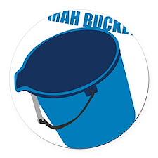 mah-bucket.png Round Car Magnet