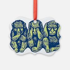3monkeys.png Ornament