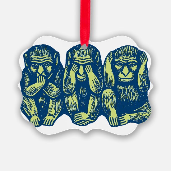 3monkeys.png Ornament