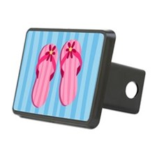 Pink Flip Flops Hitch Cover
