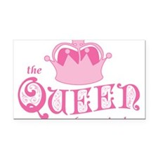 queen-has-arrived_pk.png Rectangle Car Magnet