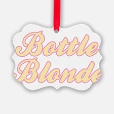 Bottle Blonde Ornament