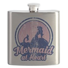 Retro Mermaid Flask