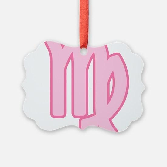 pink-zodiac-virgo.png Ornament