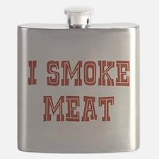 I Smoke Meat Flask