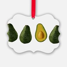 avocados_mug.png Picture Ornament