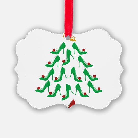 High Heel Shoe Holiday Tree Ornament