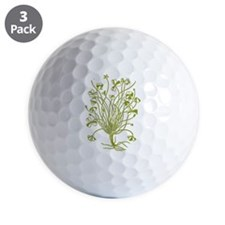 shamrock-vintage-botanical.png Golf Ball