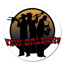 jazz_new.png Round Car Magnet
