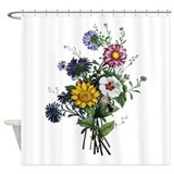 Floral Shower Curtains