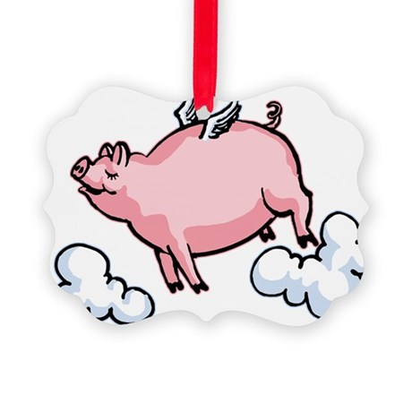 flying-pig.png Picture Ornament