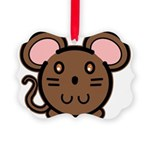 mousie-br.png Picture Ornament