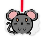 mousie-grey.png Picture Ornament