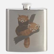 Cute Red panda Flask