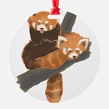 Cute Red panda Ornament