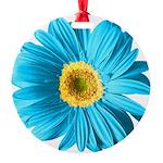 pop-daisy_bu.png Round Ornament
