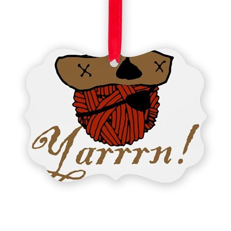 yarrrn.png Picture Ornament