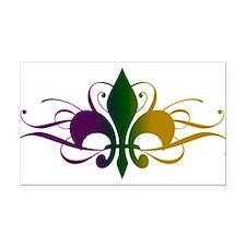 fleur-de-lis-swirls_color.png Rectangle Car Magnet