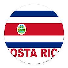 costa-rica_s.gif Round Car Magnet