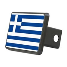 Greek Flag Hitch Cover