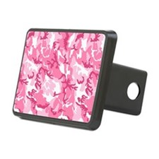 Pink Camouflage Pattern Hitch Cover
