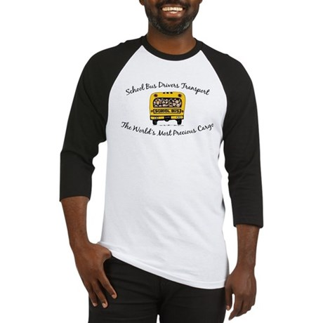 School Bus Drivers Baseball Jersey